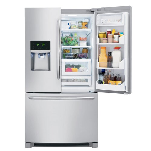 Gallery Series 22 6 Cu Ft French Door Refrigerator Wayfair