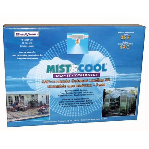 Juliana Greenhouses Greenhouse Extension Kit for the Mist and Cool System