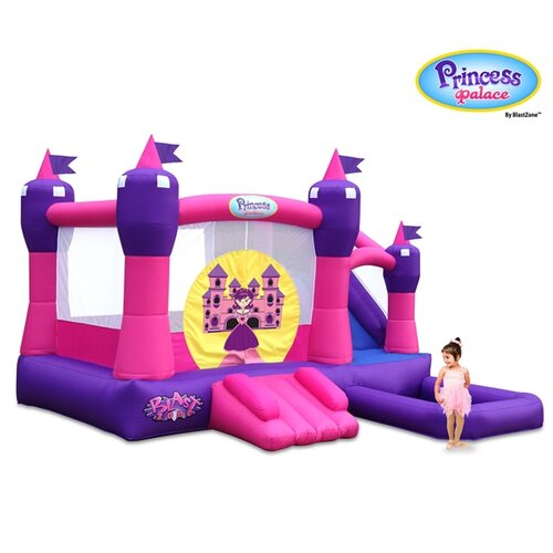 Blast Zone Princess Combo Bounce House