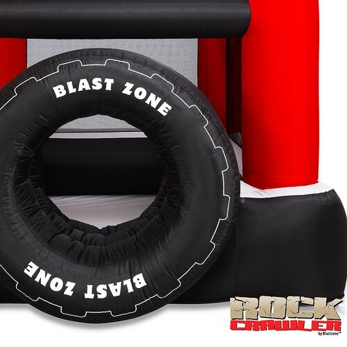 Blast Zone Rock Crawler Bounce House