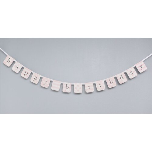 Paper Birthday Wall Border