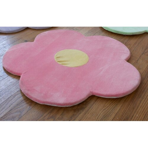 Heart to Heart Daisy Flower Kids Rug
