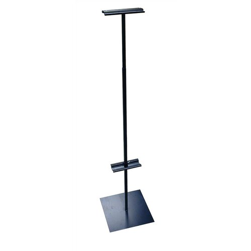 "Pinquist Tool & Die 48"" - 90"" Vertical Adjustable Banner Stand"