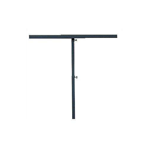 """Pinquist Tool & Die 48"""" - 90"""" Vertical Adjustable Double-Sided Banner Stand"""