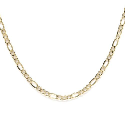 14kt Yellow Gold 3.5mm Figaro Chain