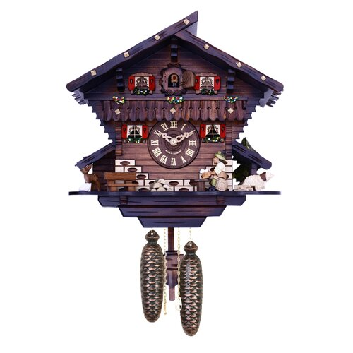 Eight Day Chalet Cuckoo Wall Clock