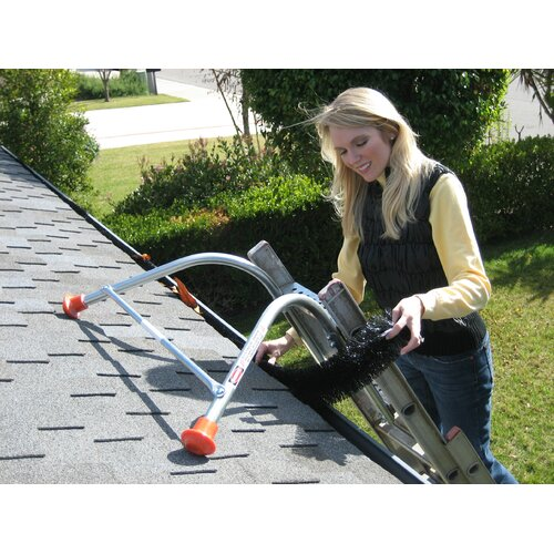 GutterBrush Standard Simple Gutter Guard for 30' Linear
