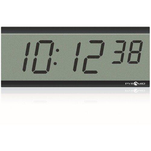 Pyramid LCD Battery Operated Wireless Digital Time Clocks