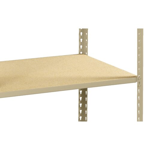 "Tennsco Corp. Z Line Low Profile 84"" H 4 Shelf Shelving Unit Starter"