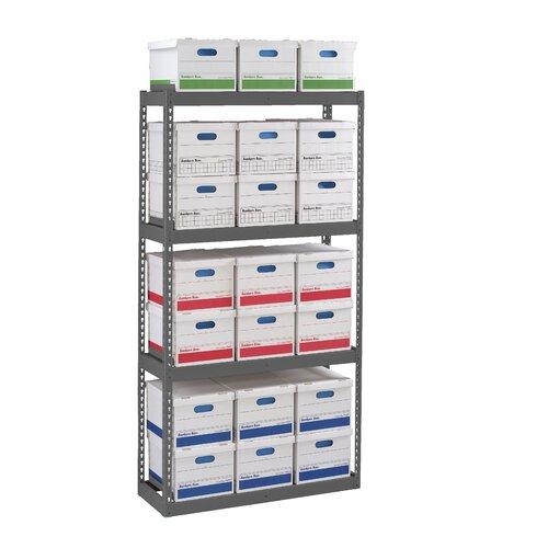 Tennsco Corp. Archive 3 Shelf Shelving Unit Starter
