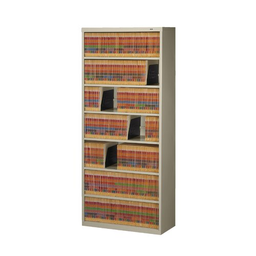 Tennsco Corp. Large Fixed Shelf File Open Filing Unit