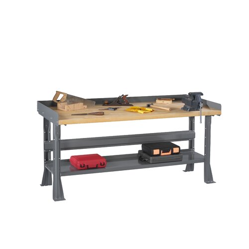 Tennsco Corp. Maple Laminate Top Workbench