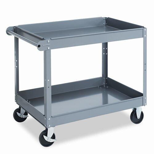 "Tennsco Corp. 32"" Metal Cart"