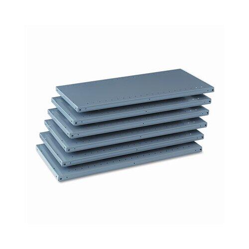 Tennsco Corp. Industrial Steel Shelving for 87 High Posts, 36W X 18D, 6/Carton