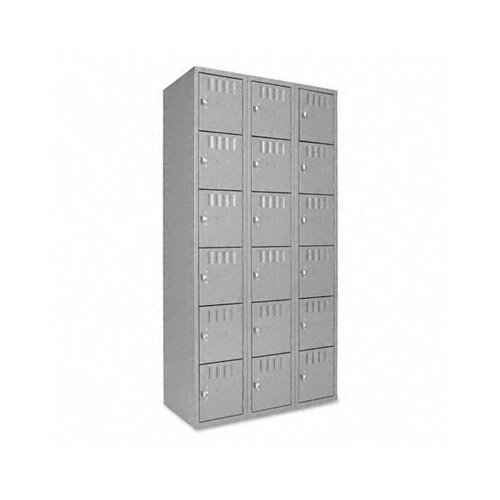 Tennsco Corp. Box Compartments, 36W X 18D X 72H