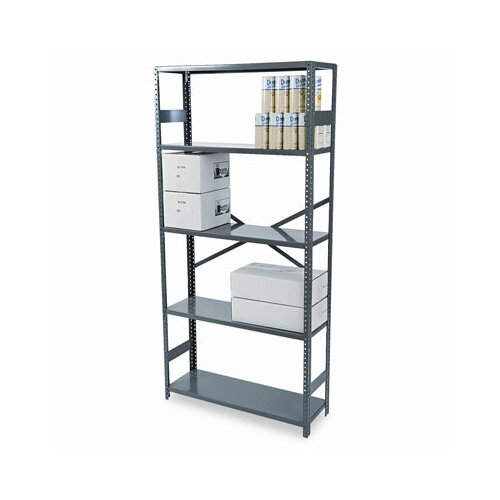 Tennsco Corp. Commercial Steel Shelving, 4 Shelves