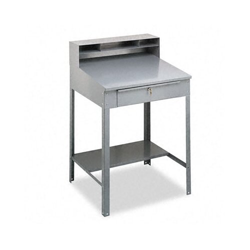 Tennsco Corp. Open Steel Shop Desk