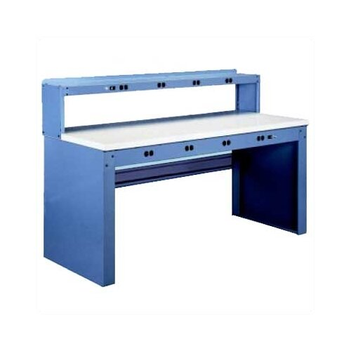 Tennsco Corp. Residential Electrical Plastic Laminate Top Workbench