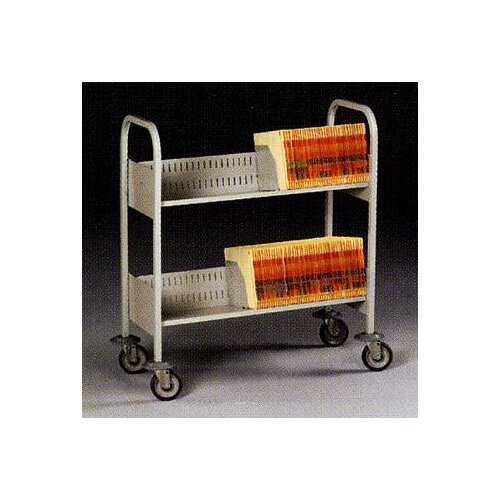 Tennsco Corp. Filing Cart, 4 Shelves