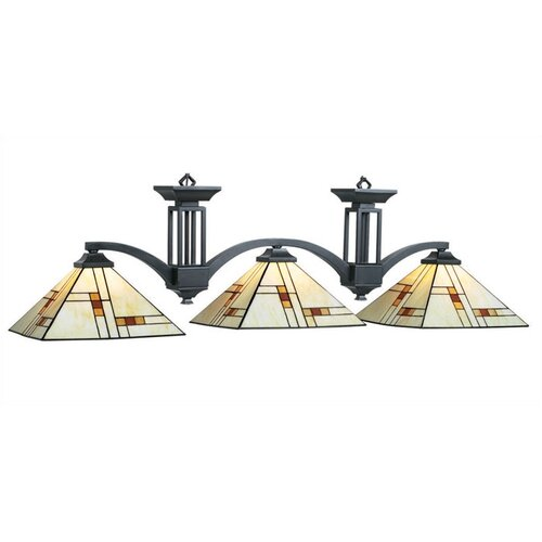 RAM Gameroom Products Brooklyn 3 Light Billiards Light