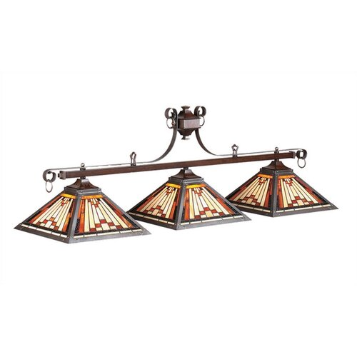 RAM Gameroom Products Laredo 3 Light Billiards Light