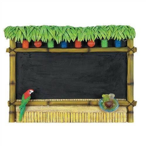 RAM Gameroom Products Outdoor Tiki Bar Sign Chalkboard