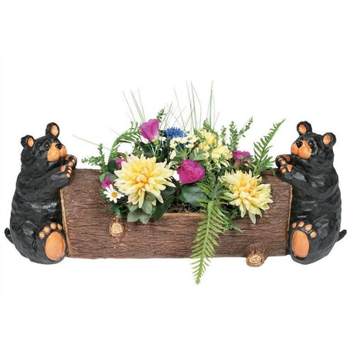 RAM Gameroom Products Two Bear Square Planter