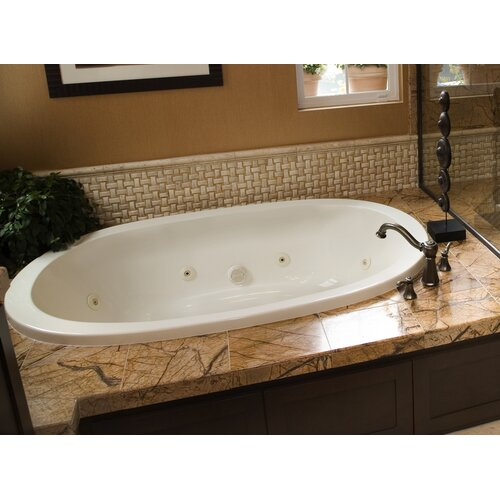 "Hydro Systems Designer Galaxie 74"" x 44"" Whirlpool Tub with Combo System"