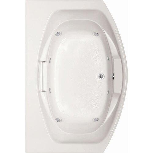 "Hydro Systems Designer Jessica 72"" x 48"" Whirlpool Tub"