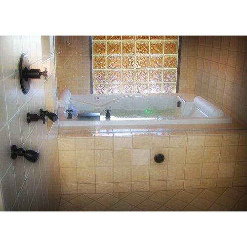 "Hydro Systems Designer Ashley 72"" x 48"" Whirlpool Tub"