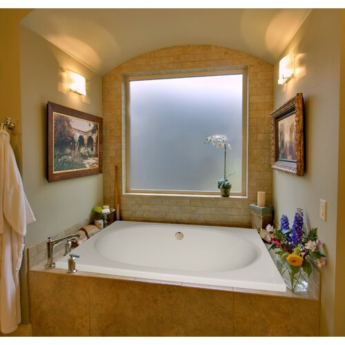 """Hydro Systems Designer Fuji 40"""" x 32"""" Whirlpool Tub with Combo System"""
