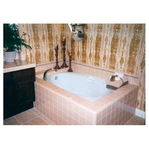 """Hydro Systems Builder Oval 60"""" x 42"""" Air Tub with Thermal System"""