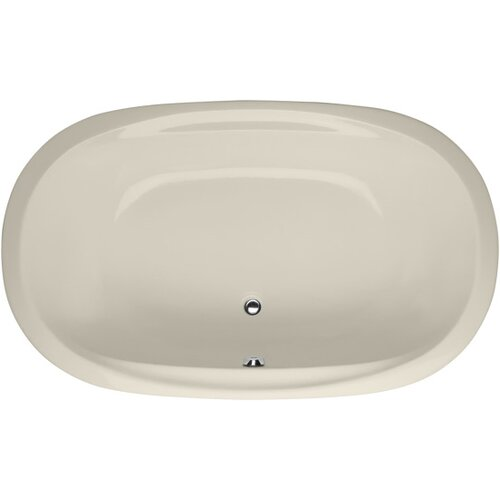 "Hydro Systems Builder Duo Oval 66"" x 44"" Whirlpool Tub with Whirlpool System"