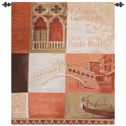 Manual Woodworkers & Weavers Ponte Rialto Tapestry