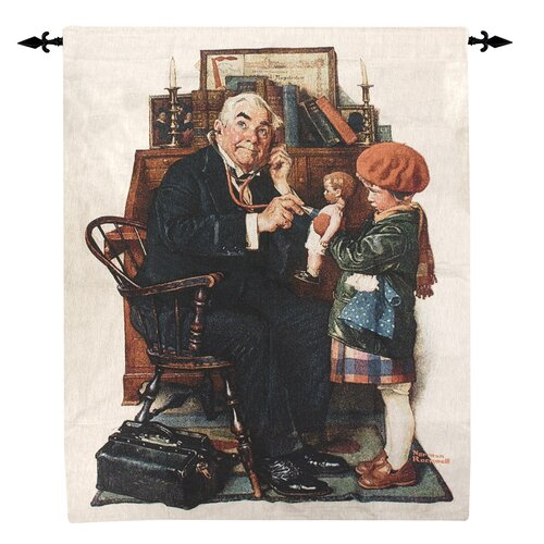 Manual Woodworkers & Weavers Doctor and the Doll Tapestry