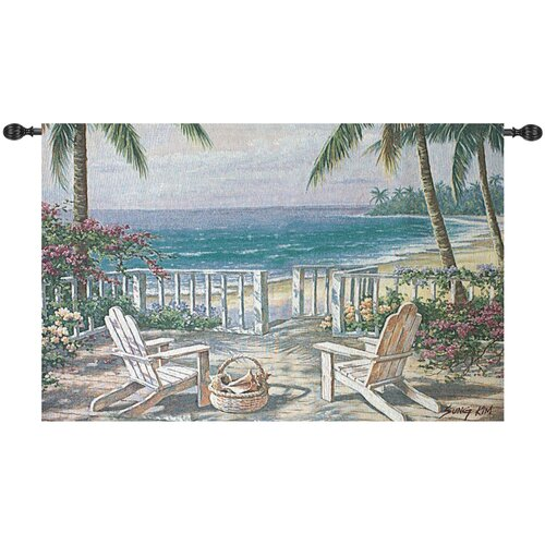 Manual Woodworkers & Weavers Coastal View Tapestry