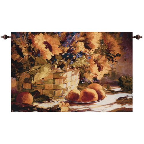 Manual Woodworkers & Weavers Sunflowers Tapestry