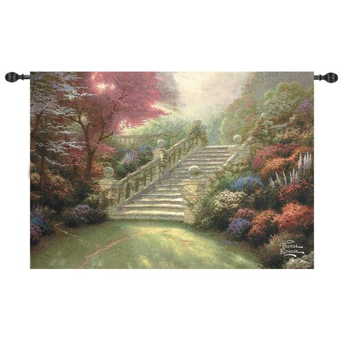 Manual Woodworkers & Weavers Stairway to Paradise Tapestry
