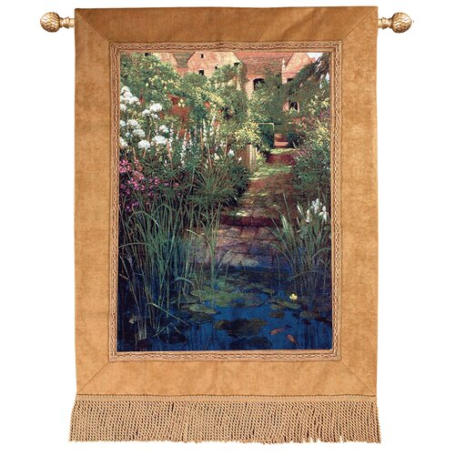 Manual Woodworkers & Weavers Steps to the Lily Pond Tapestry