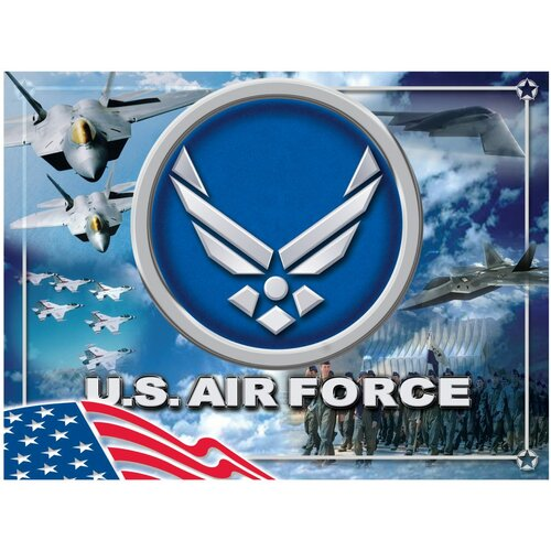 US Armed Forces Graphic Art on Canvas