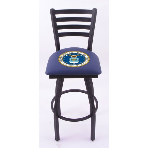 "Holland Bar Stool US Military 30"" Bar Stool with Cushion"