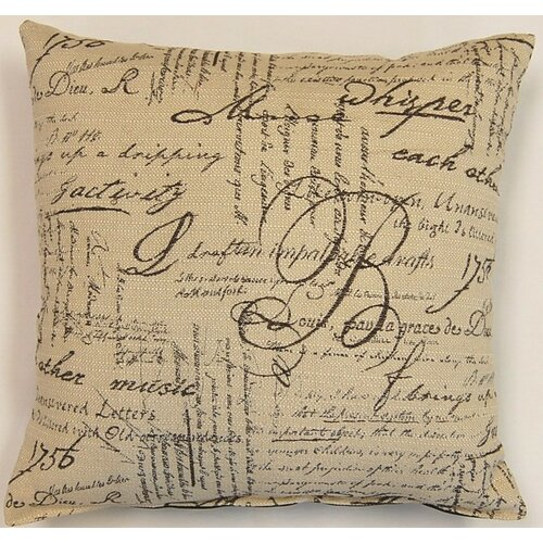 Dakotah Pillow Whisper Mocha Knife Edge Pillow