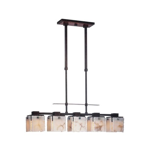 Kalco Bedford 5 Light Kitchen Island Pendant