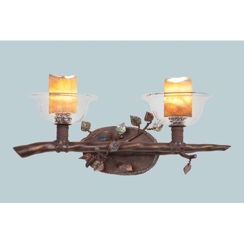 Kalco Cottonwood 2 Light Bath Vanity Light