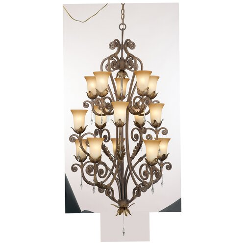 Kalco Wellington 15 Light Chandelier
