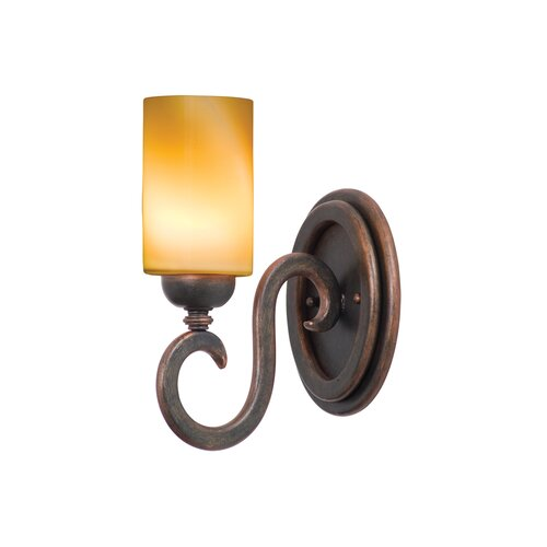 Kalco Santa Barbara 1 Light Wall Sconce