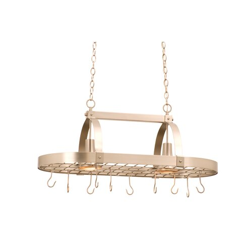 Kalco 2 Light Hanging Pot Rack