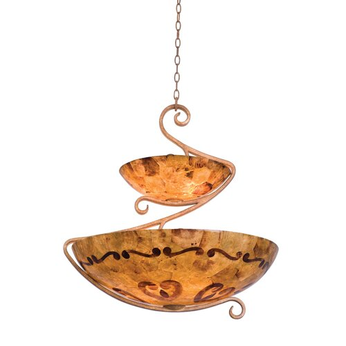 G-Cleft 8 Light Bowl Inverted Pendant