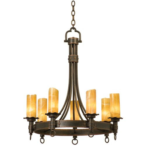 Kalco Americana 7 Light Chandelier
