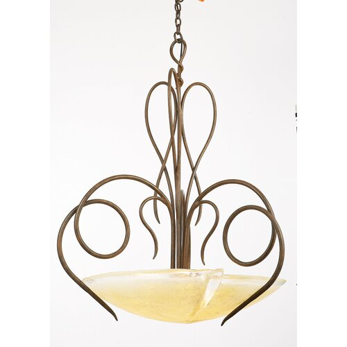 Tribecca 3 Light Inverted Pendant